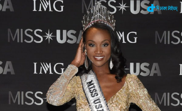 Miss USA elected a black military officer