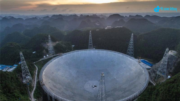 China has built the largest telescope
