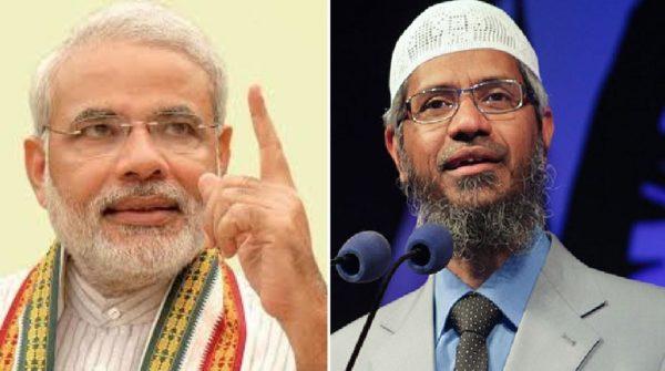 Modi & Zakir Naik