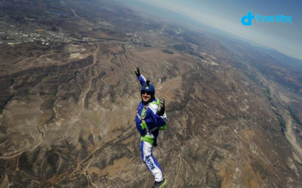 25 thousand feet high from jump