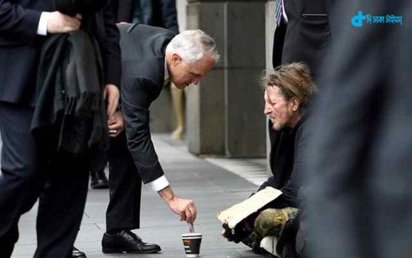 Australian Prime Minister & begging