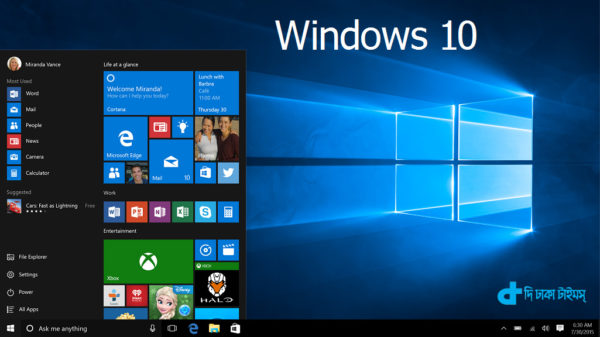 Windows 10 can be upgraded for free