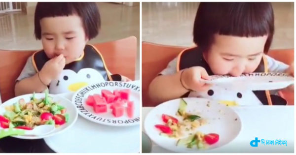 You'll be surprised to see baby eat