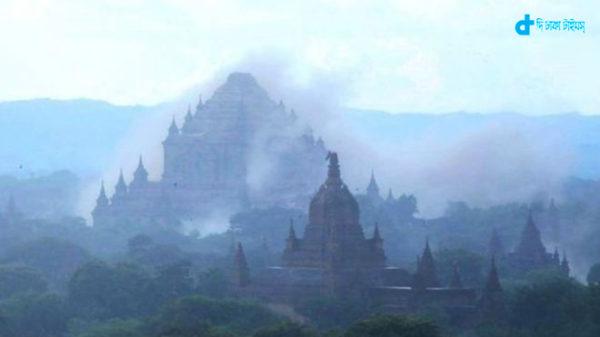 mynamar pagoda quake