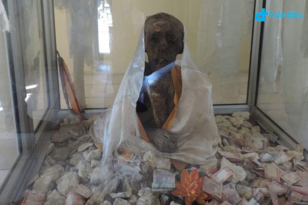 Mysterious 500-year-old mummy in India