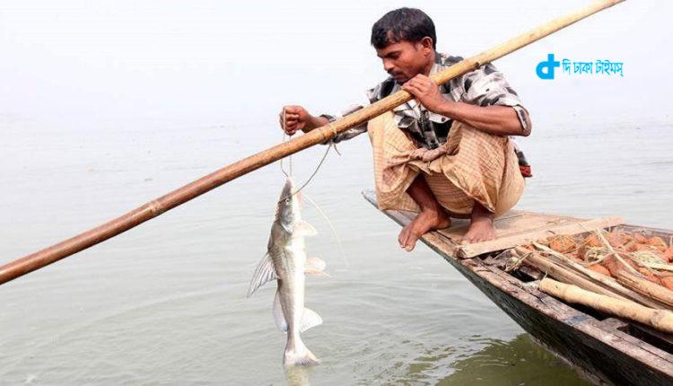 নদীতে নৌকায় মাছ ধরার এক অনবদ্য দৃশ্য 1