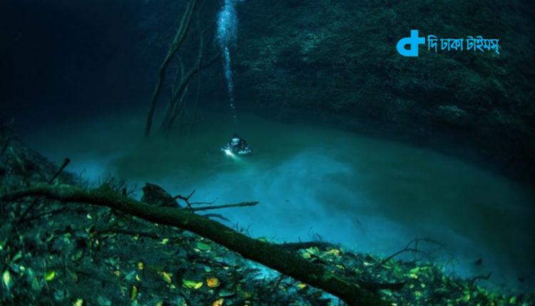 অদ্ভুতুড়ে কাণ্ড: মেক্সিকোতে পানির নিচে আরেক নদী! 2