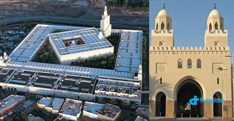 মক্কার ঐতিহাসিক মিকাত মসজিদ 1