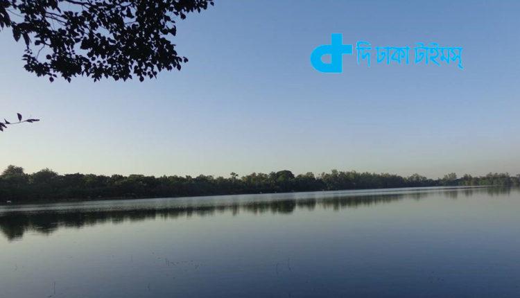 দিনাজপুরের রামসাগরের একটি অপূর্ব দৃশ্য 1