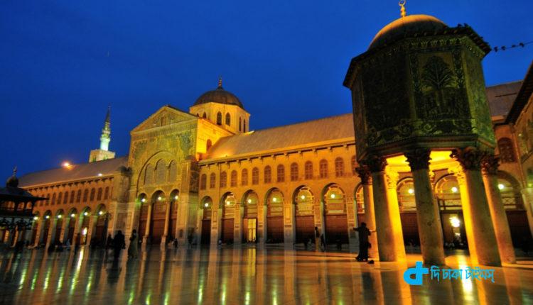 সিরিয়ার দামেস্কের ঐতিহাসিক উমাইয়া মসজিদ 1