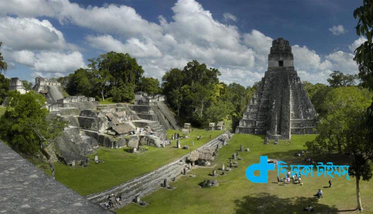 জঙ্গলের নিচে ৬০ হাজারেরও বেশি মায়া সভ্যতা নির্মিত স্থাপনার সন্ধ্যান 1