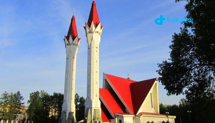 রাশিয়ার বাশকরতস্তানের বিখ্যাত লালা-টিউলিপ মসজিদ 1