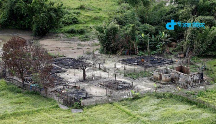 'মিয়ানমার সেনাবাহিনী রোহিঙ্গাদের জমিতে তাদের ঘাঁটি বানাচ্ছে' 1