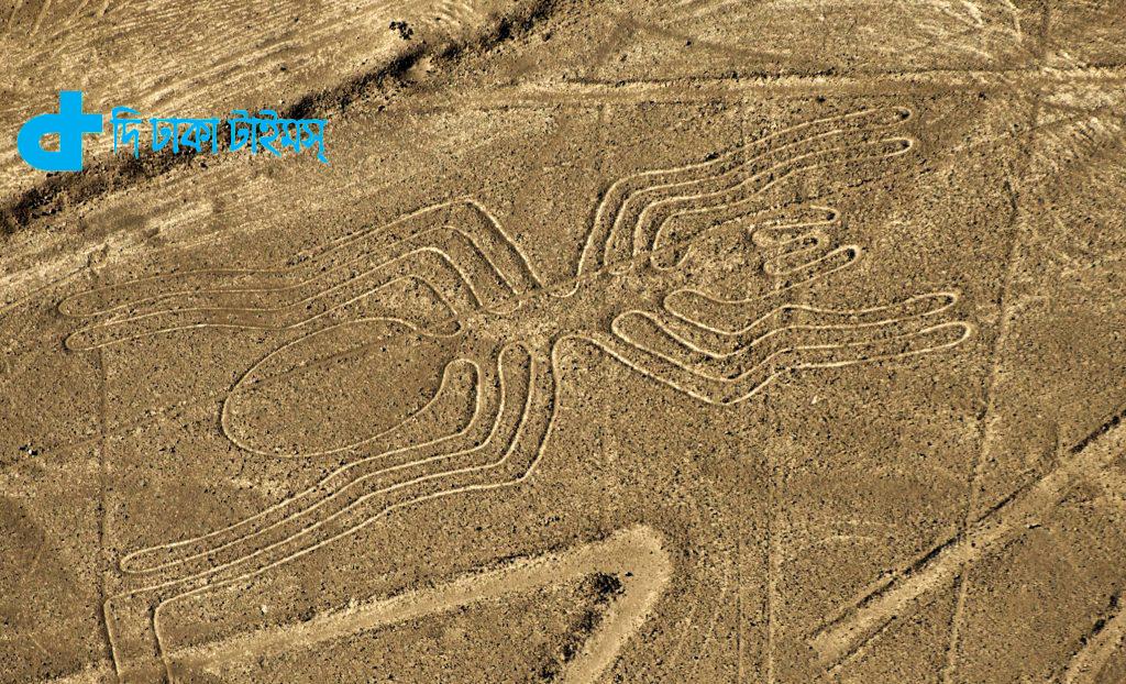 রহস্য ঘেরা পৃথিবীর আরেকটি রহস্যময় জায়গা হলো নাজকা লাইন 2