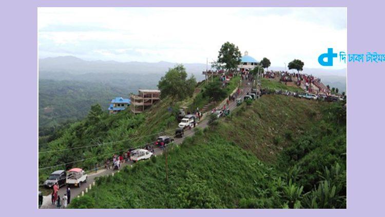 বান্দরবানের একটি দর্শনীয় স্থান 1