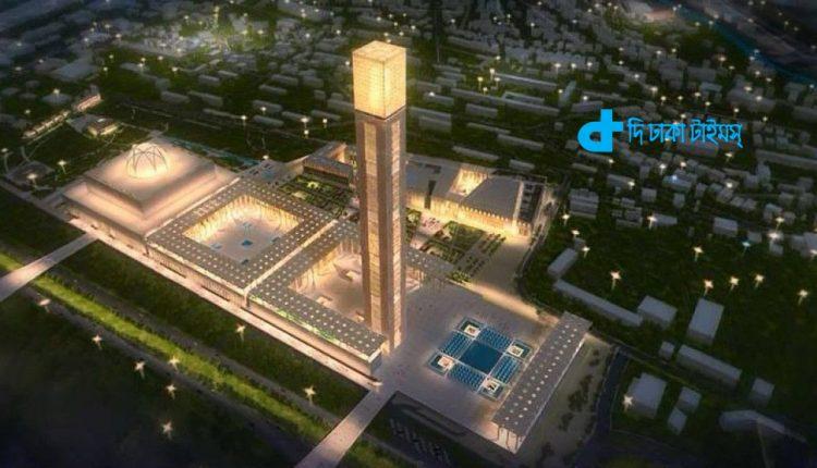 বিশ্বের তৃতীয় বৃহৎ মসজিদ নির্মাণ হচ্ছে আলজেরিয়ায় 1