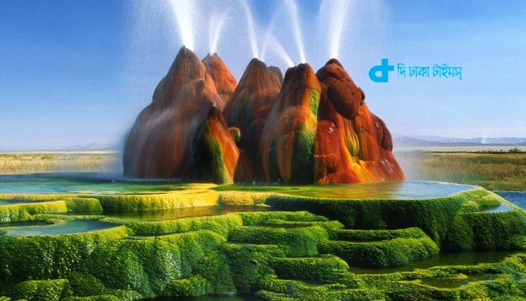 মার্কিন যুক্তরাষ্ট্রের ফ্লাই গেইসার: এক মনোমুগ্ধকর প্রাকৃতিক দৃশ্য 1