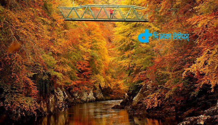 স্কটল্যান্ডের পিটলোকরি শহরে গ্যারি নদী: এক চমৎকার দৃশ্য 1