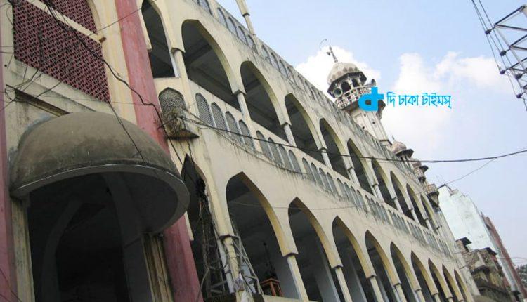 রাজধানী ঢাকার ঐতিহাসিক চকবাজার শাহী মসজিদ 1