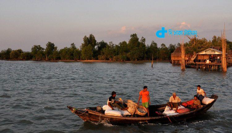 মায়ানমারের ইরাবতী নদীর একটি অপূর্ব দৃশ্য 1