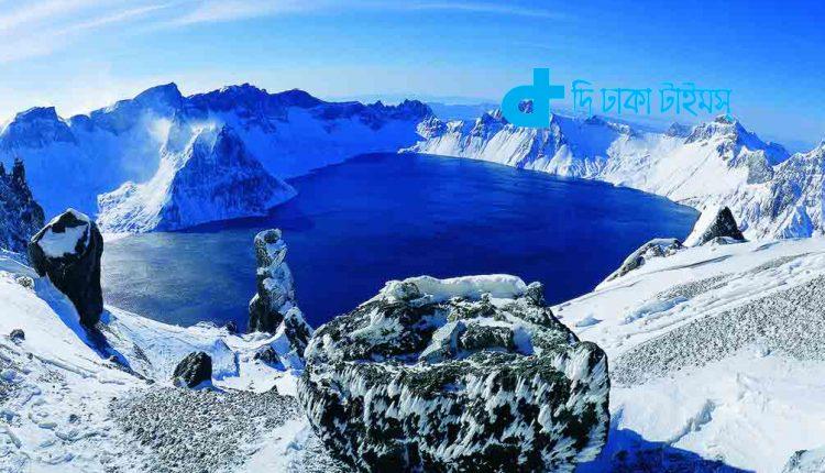 এক নৈসর্গ চীনের চাংবাই পর্বত 1
