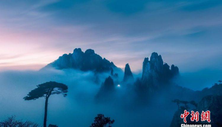চীনের চিয়াংসি প্রদেশের এই পাহাড়টি সত্যিই মোহনীয় 1
