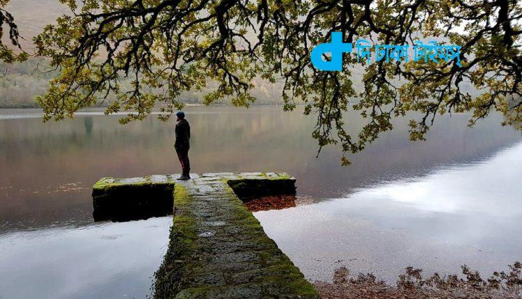 স্কটল্যান্ডের ব্যারি ওয়েয়ার গ্লেঞ্জারি কাসলের একটি দৃশ্য 1