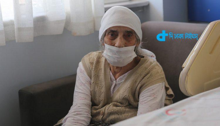 ১০৭ বছর বয়সী বৃদ্ধা এবার করোনা জয় করলেন 1
