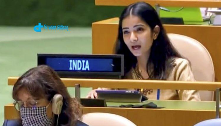 জাতিসংঘে ভারতীয় নারী: পাকিস্তান এমন একটি দেশ যারা নিজেরাই আগুন লাগায় 1